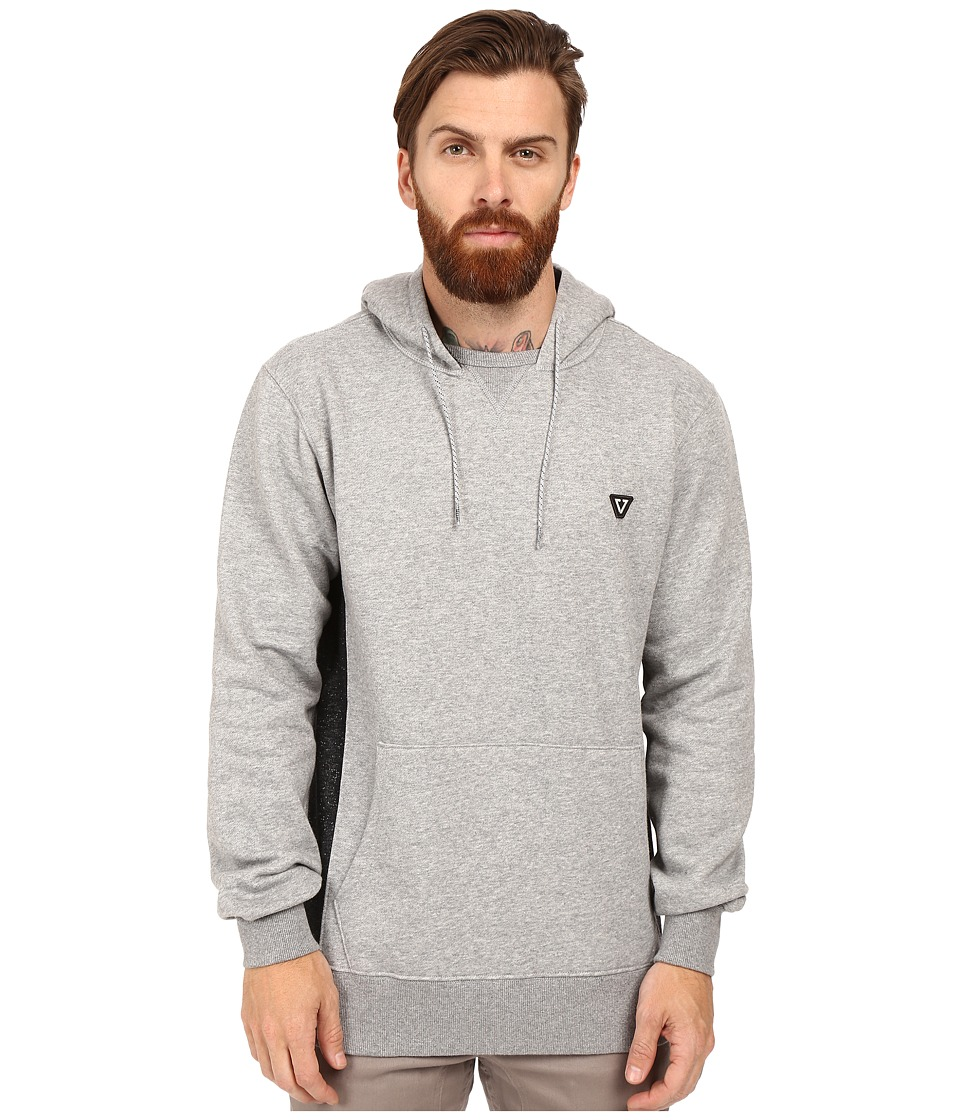 VISSLA - All Sevens Pullover Hoodie Fleece (Grey Heather) Men's Sweatshirt