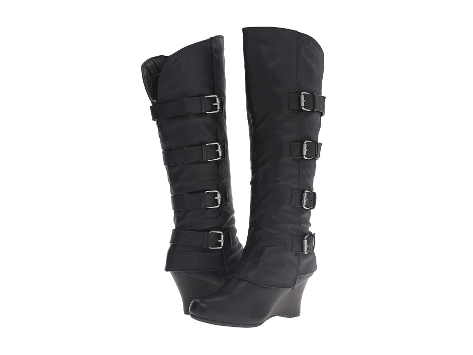 UNIONBAY - Rome (Black) Women's Shoes