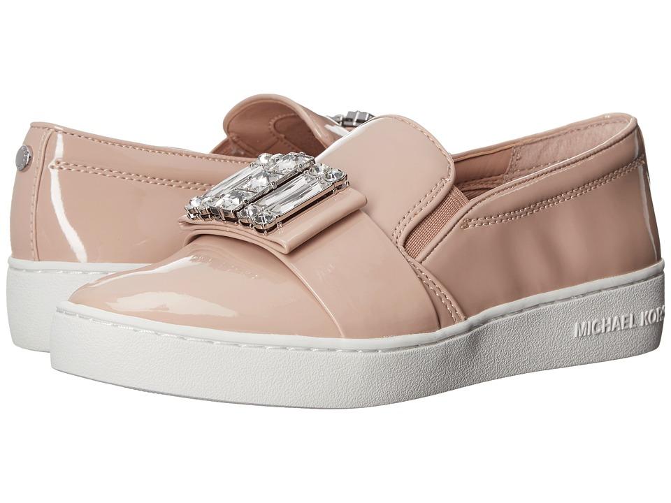 MICHAEL Michael Kors Michelle Slip-On Light Blush Patent Womens Slip on  Shoes