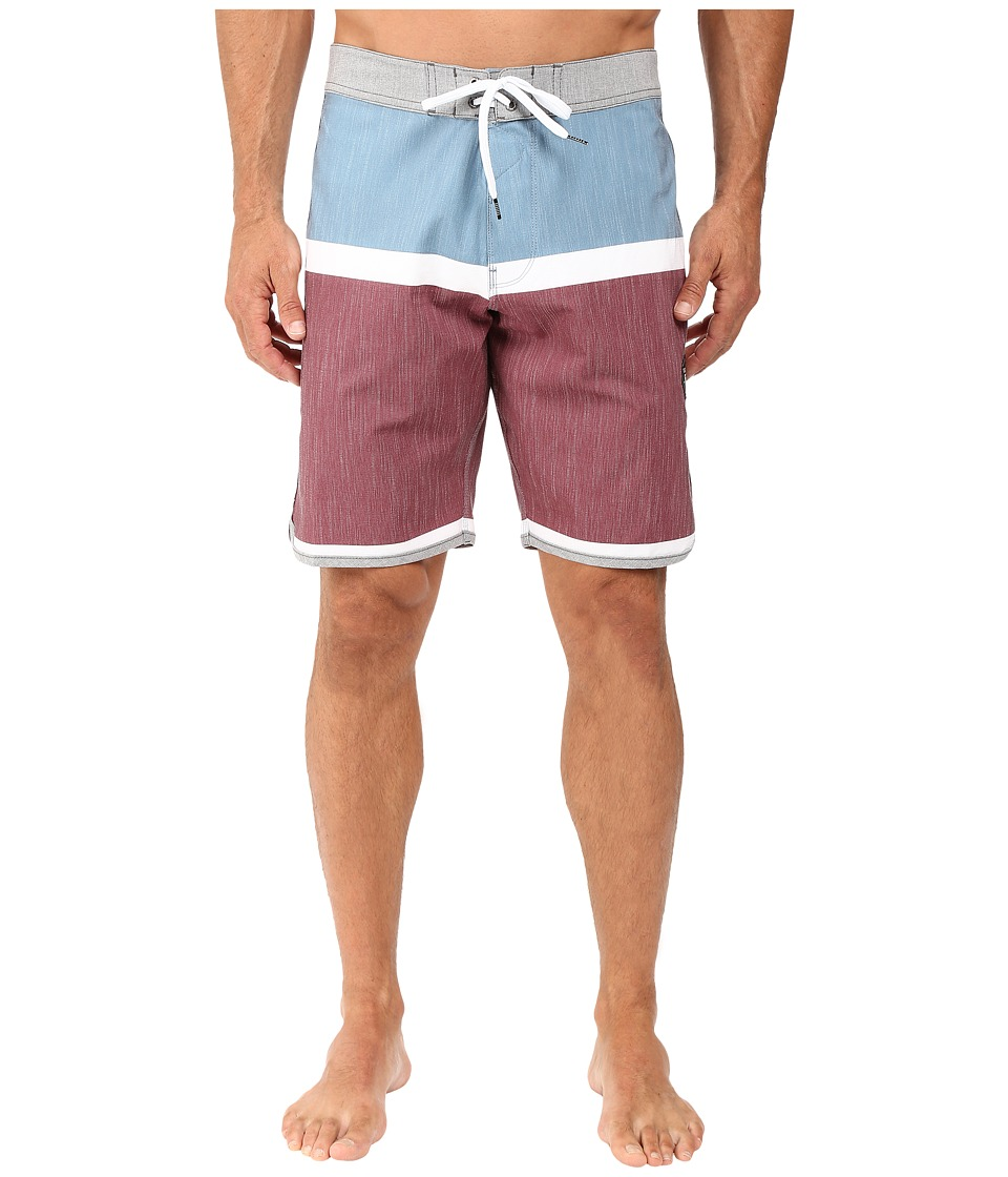 VISSLA - Dredges 4-Way Stretch Boardshorts 20 (Port) Men's Swimwear