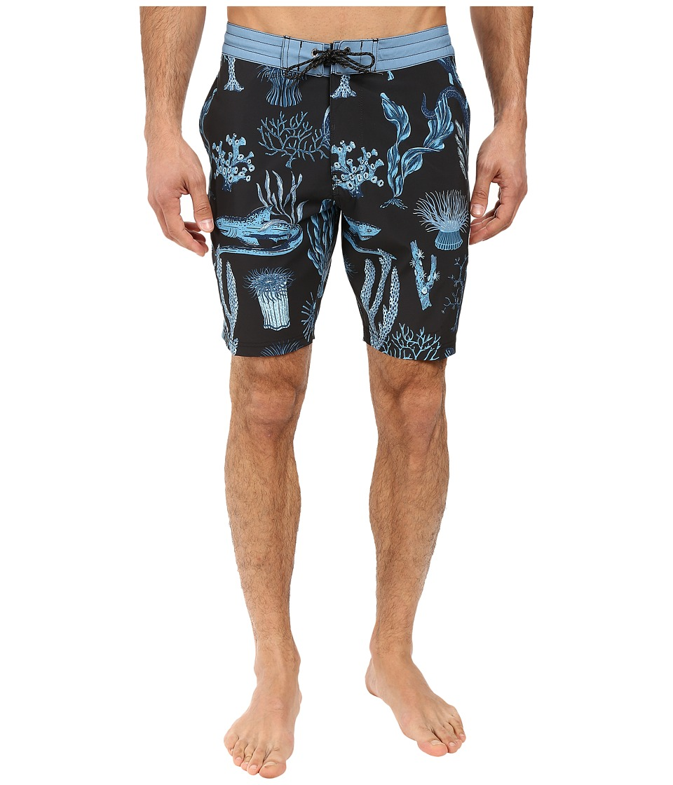 VISSLA - Mystic Abyss 4-Way Stretch Boardshorts 18.5 (Dusk) Men's Swimwear