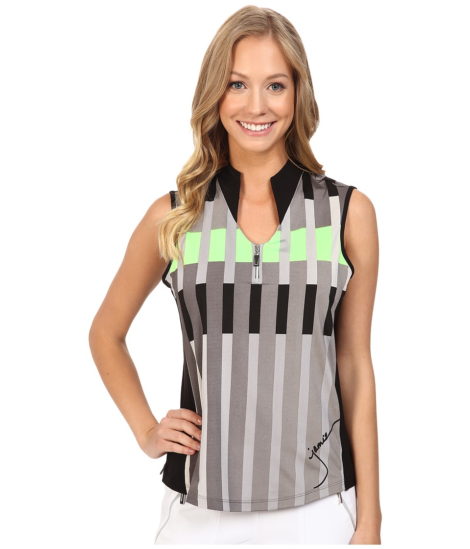Jamie Sadock - Miami Print Sleeveless Top (Kryptonite) Women's Sleeveless
