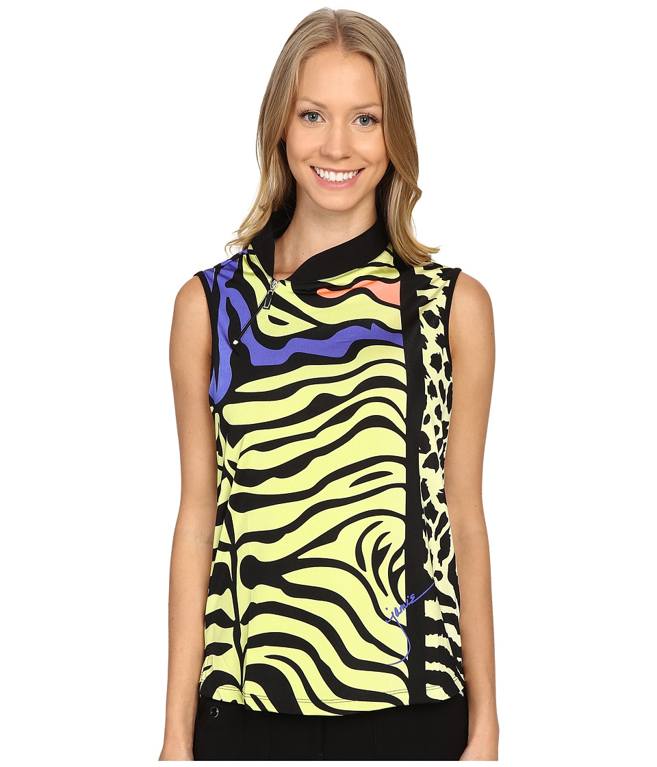 Jamie Sadock - Animal Print Sleeveless Top (Edo) Women's Sleeveless