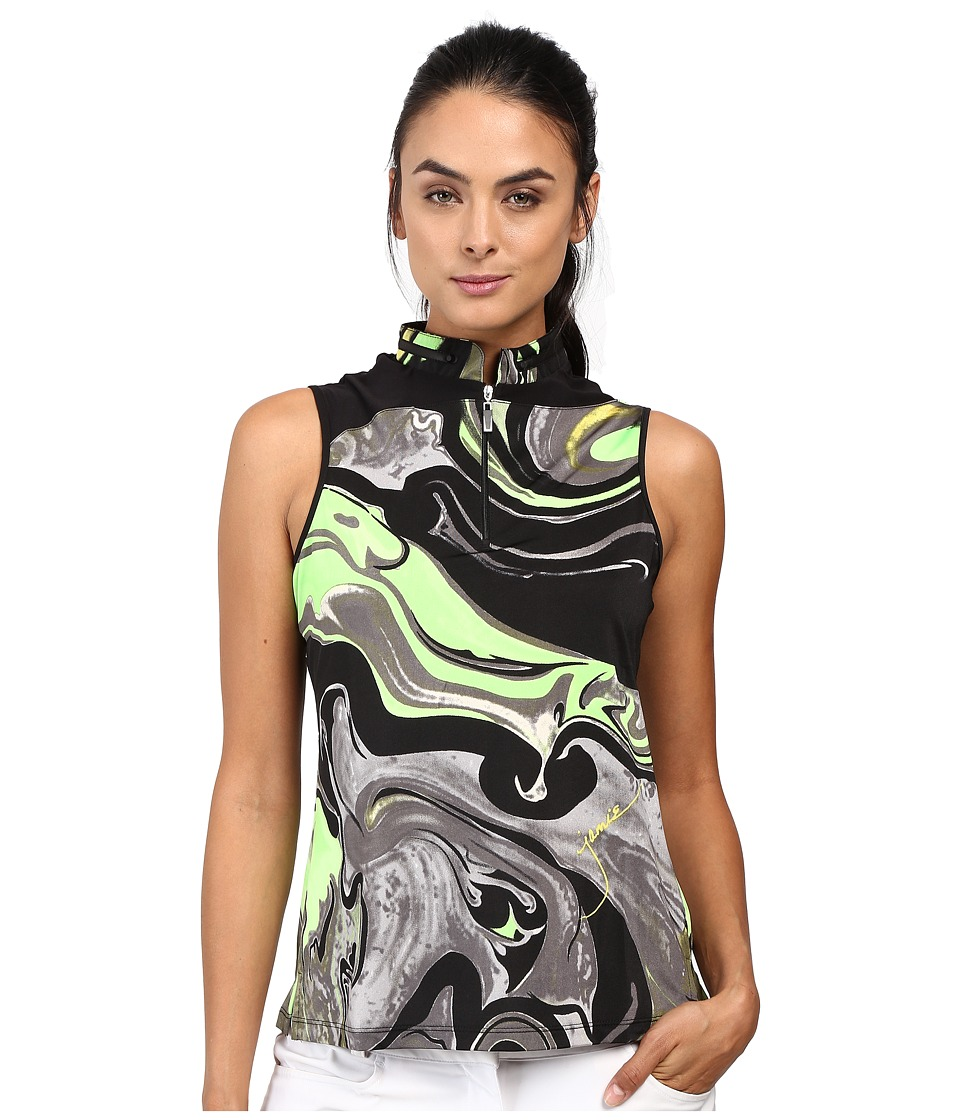 Jamie Sadock - Galaxy Print Sleeveless Top (Kryptonite) Women's Sleeveless