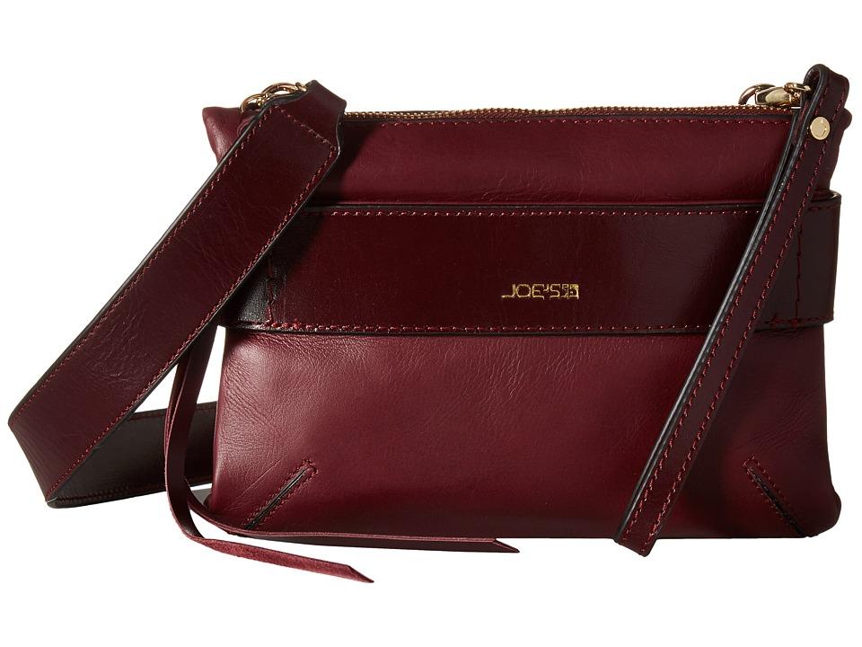 Joe's Jeans - Mariela Crossbody (Wine) Cross Body Handbags