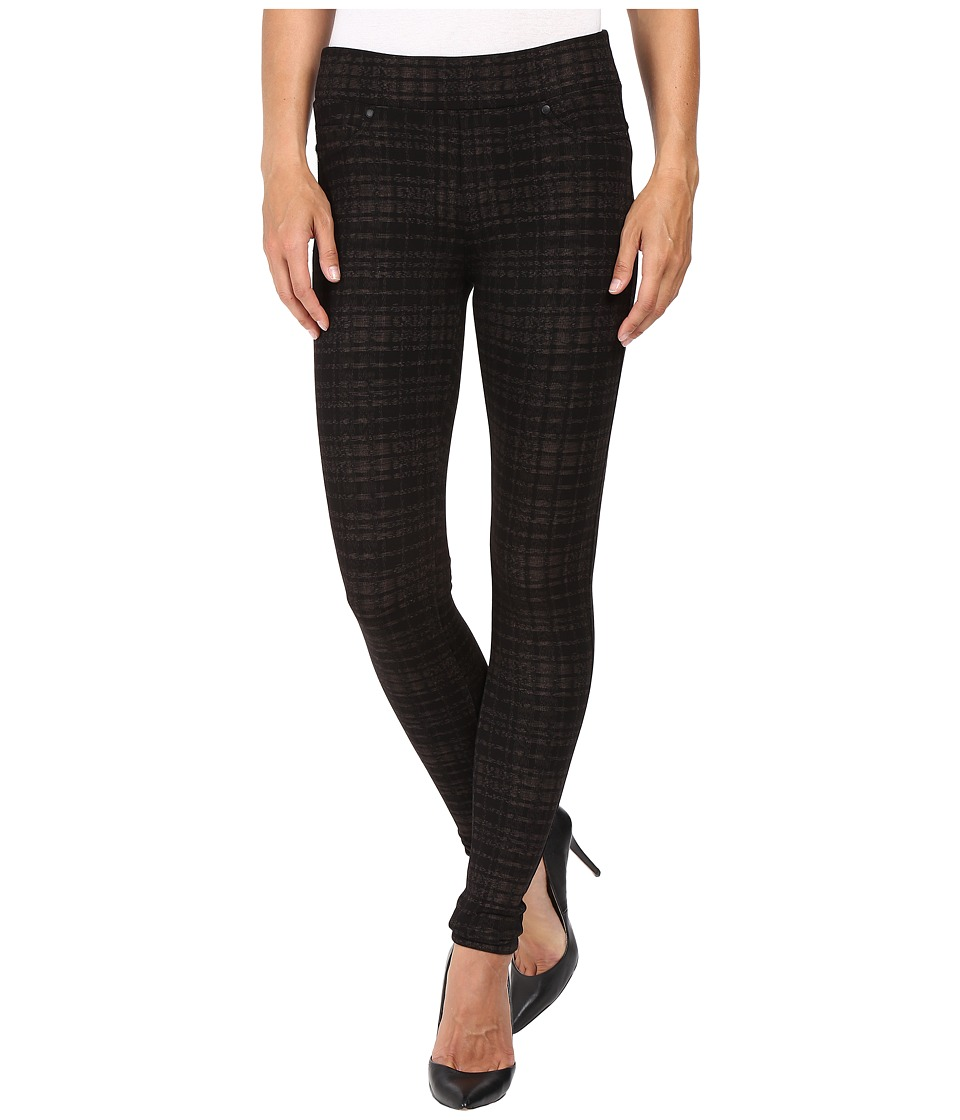 Liverpool - Quinn Pull-On Leggings in Metallic Plaid (Metallic Plaid) Women's Jeans