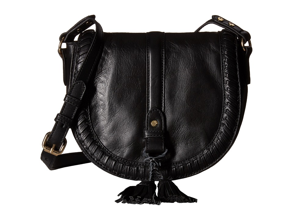 Joe's Jeans - Bianca Saddle Bag (Black) Handbags
