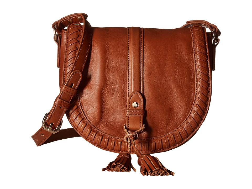 Joe's Jeans - Bianca Saddle Bag (Chestnut) Handbags