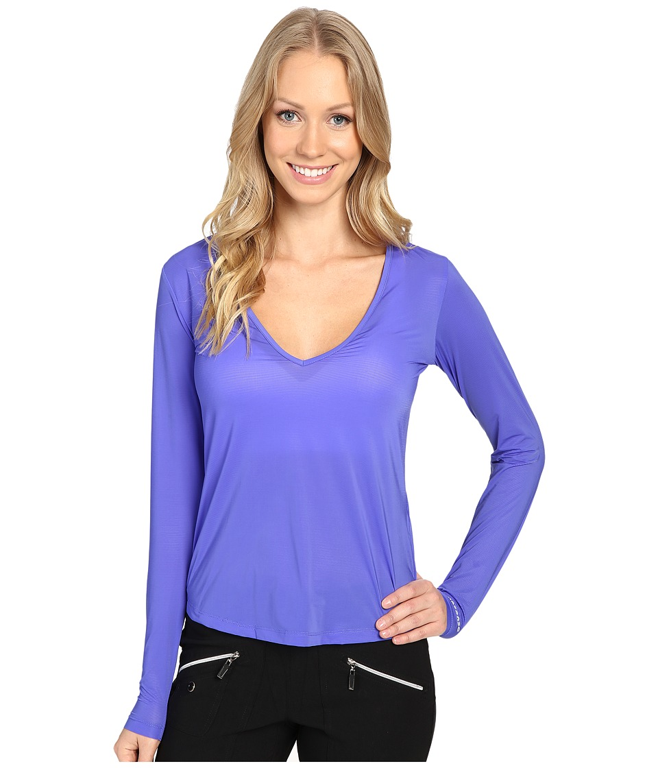 Jamie Sadock - Sunsence Lightweight Long Sleeve Layering Under Garment Top with UVP 30 (Rhapsody) Women's Long Sleeve Pullover