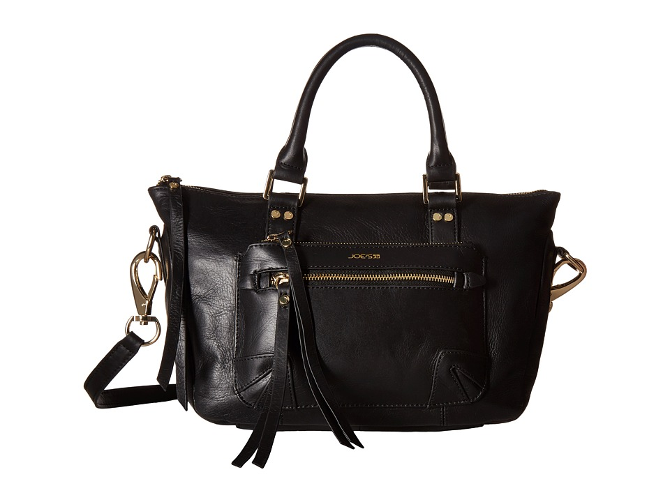 Joe's Jeans - Payton Small Satchel (Black) Satchel Handbags