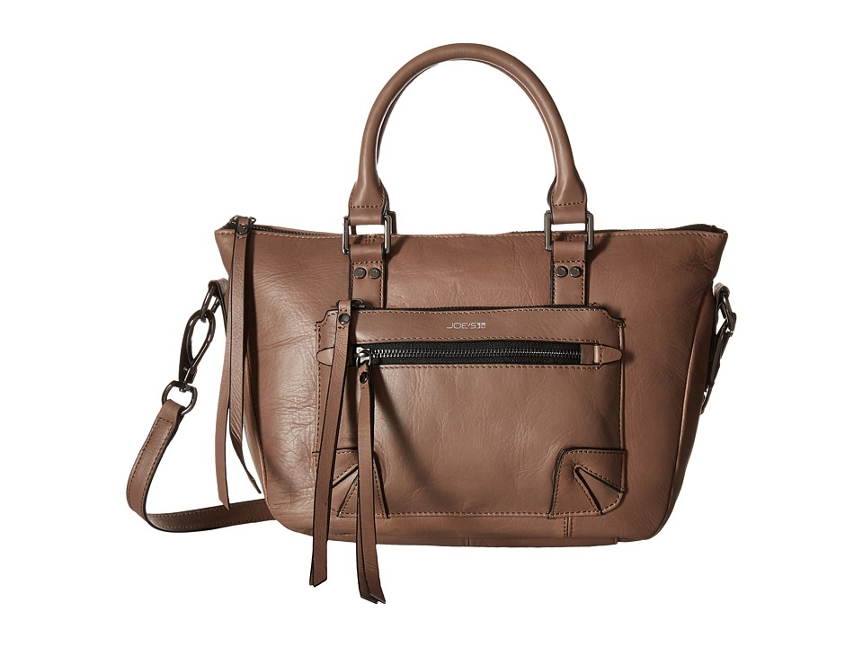 Joe's Jeans - Payton Small Satchel (Fog) Satchel Handbags