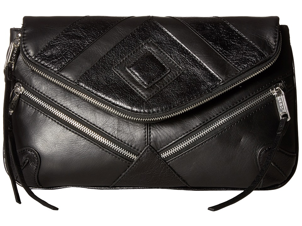 Joe's Jeans - Morgan Convertible Clutch (Black) Clutch Handbags