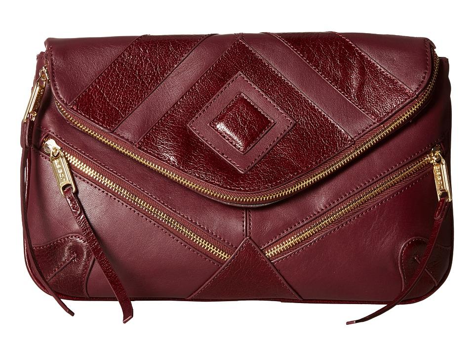 Joe's Jeans - Morgan Convertible Clutch (Wine) Clutch Handbags