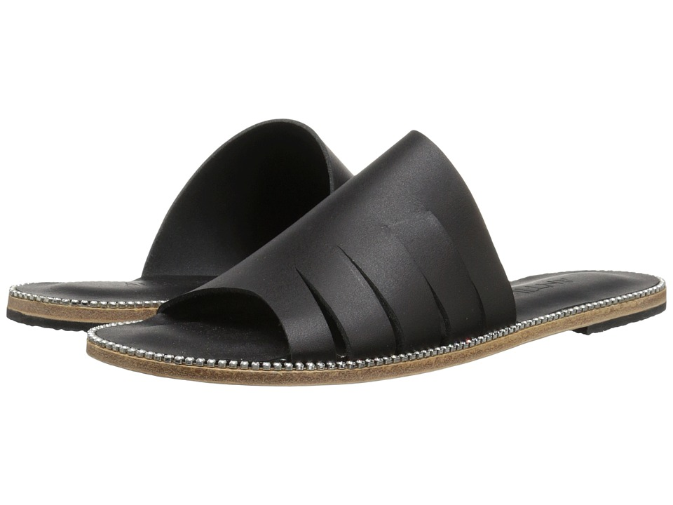 Jerusalem Sandals - Mulholland Drive - Antika Collection (Black/Swarovski Crystal) Women's Shoes
