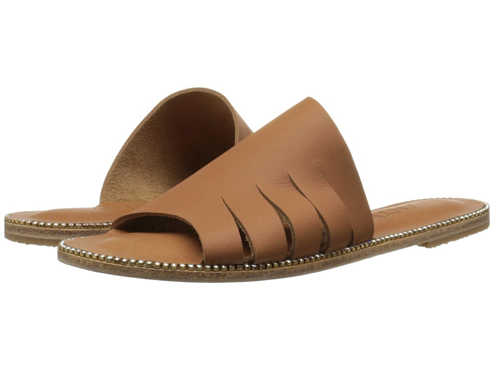 Jerusalem Sandals - Mulholland Drive - Antika Collection (Tan/Swarovski Rainbow) Women's Shoes