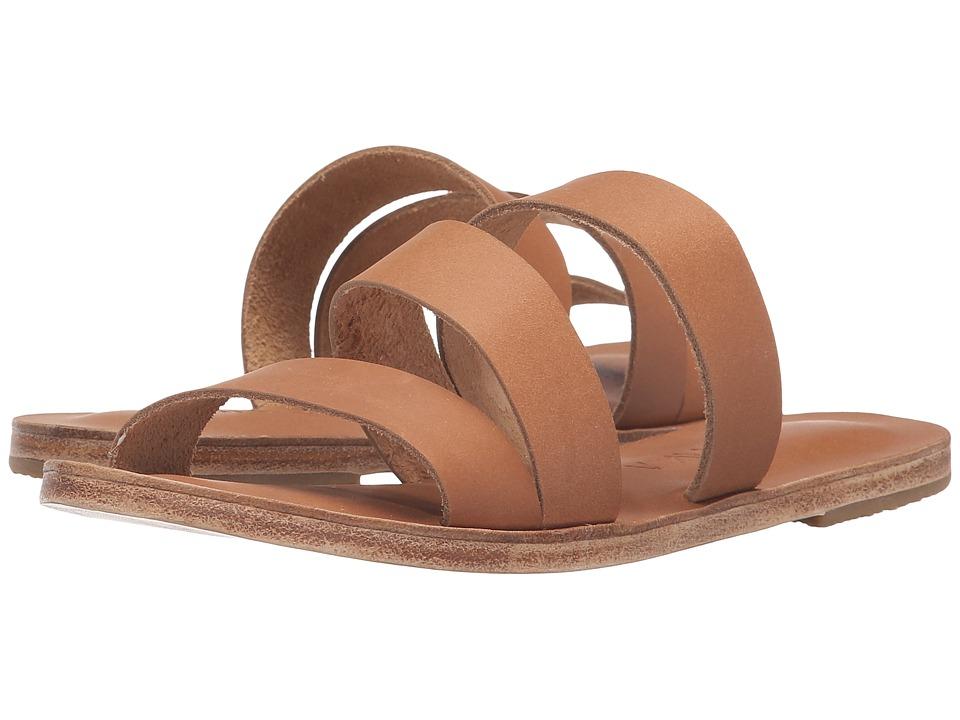 Jerusalem Sandals - Venice Blvd - Antika Collection (Tan) Women's Shoes