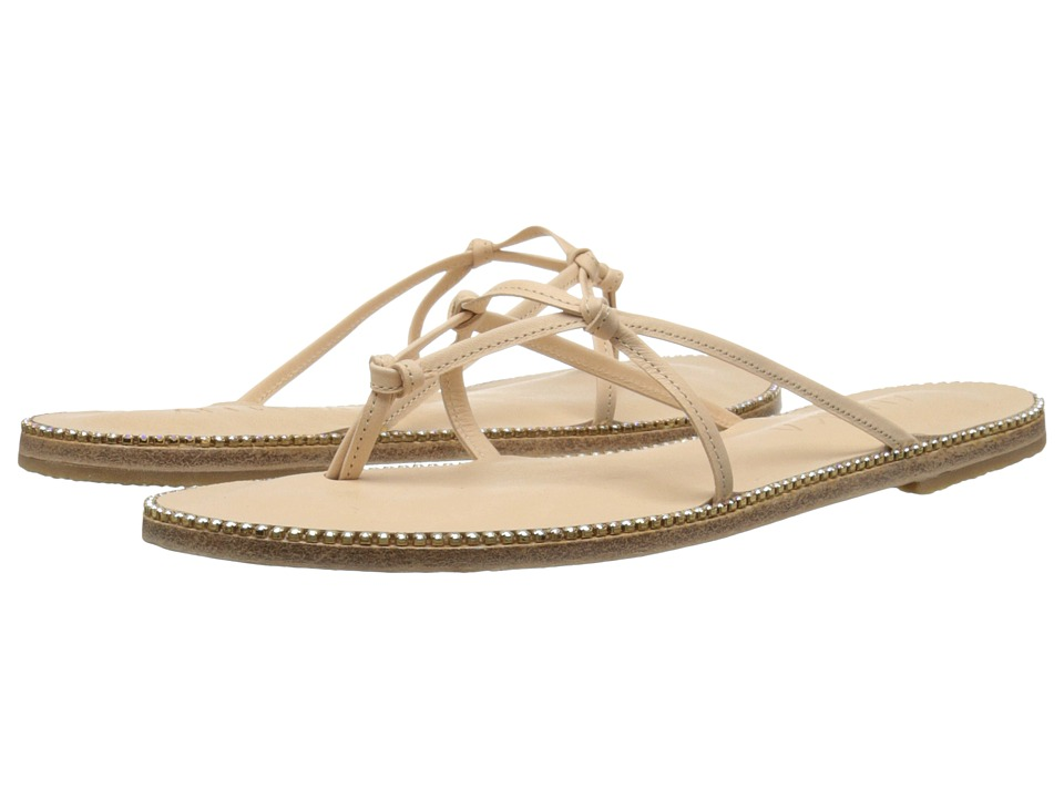 Jerusalem Sandals - Sunset Blvd - Antika Collection (Natural/Swarovski Rainbow) Women's Shoes