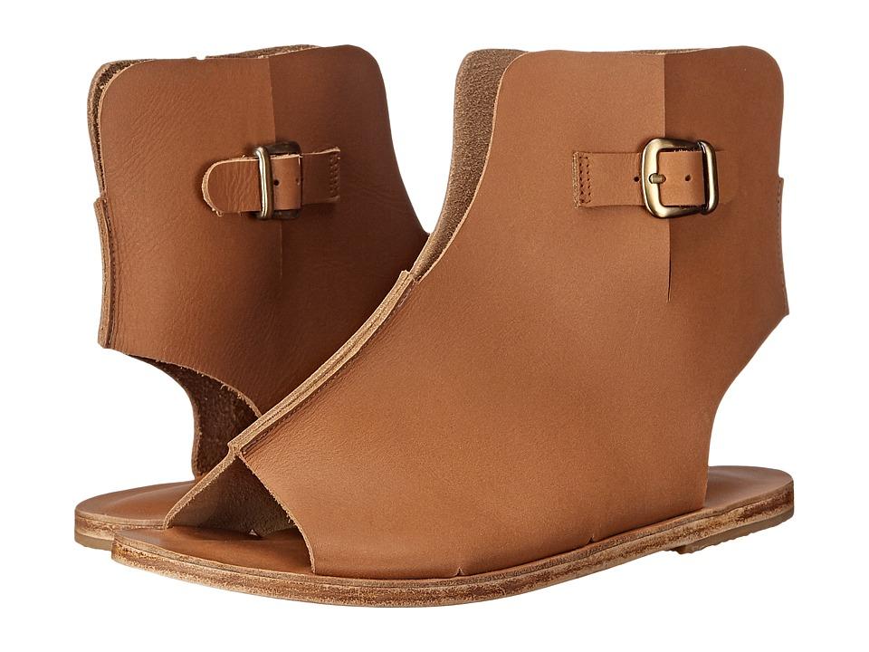 Jerusalem Sandals - Rodeo Drive - Antika Collection (Tan) Women's Shoes