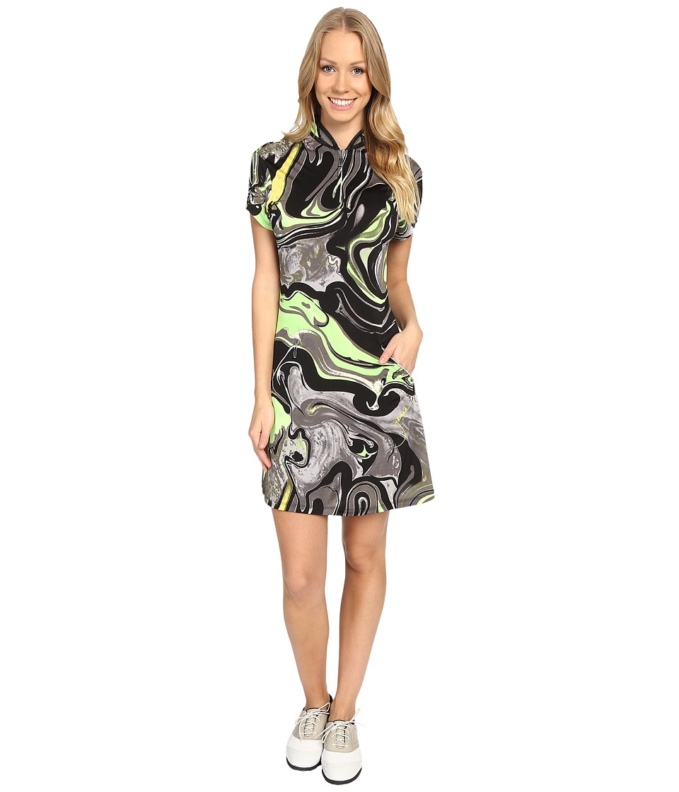 Jamie Sadock - Galaxy Print Dress with Pockets (Kryptonite) Women's Dress