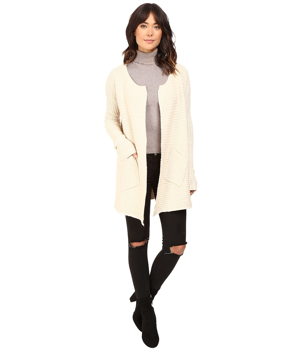 Brigitte Bailey - Idolized Knit Coat (Vanilla) Women's Coat