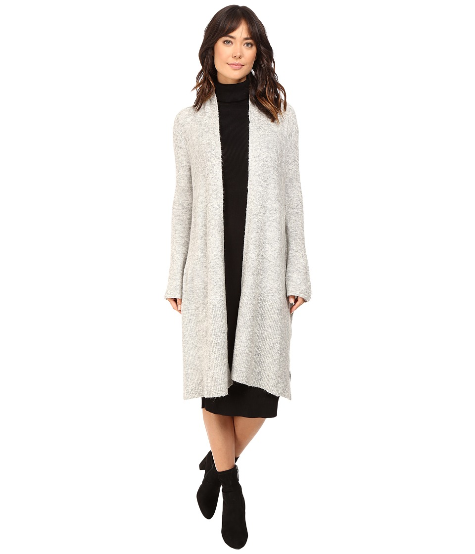 Brigitte Bailey - Honey Knit Wrap Coat (Light Heather) Women's Coat