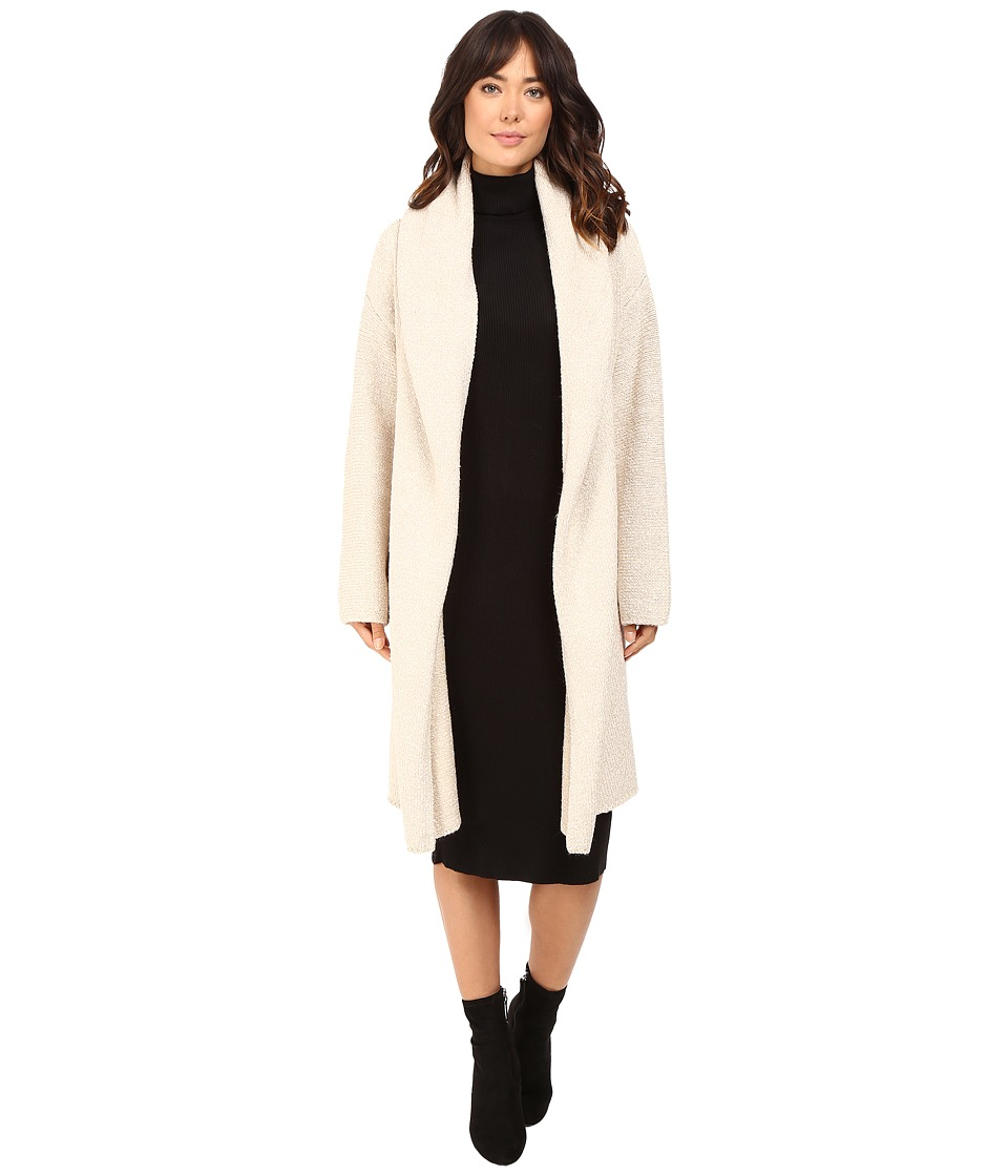 Brigitte Bailey - Luscious Car Coat (Heather Vanilla) Women's Coat