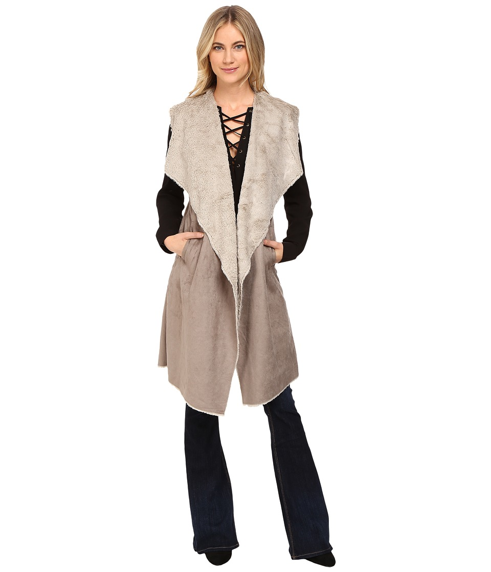 Brigitte Bailey - Worship Cozy Vest (Clay/Stone) Women's Vest