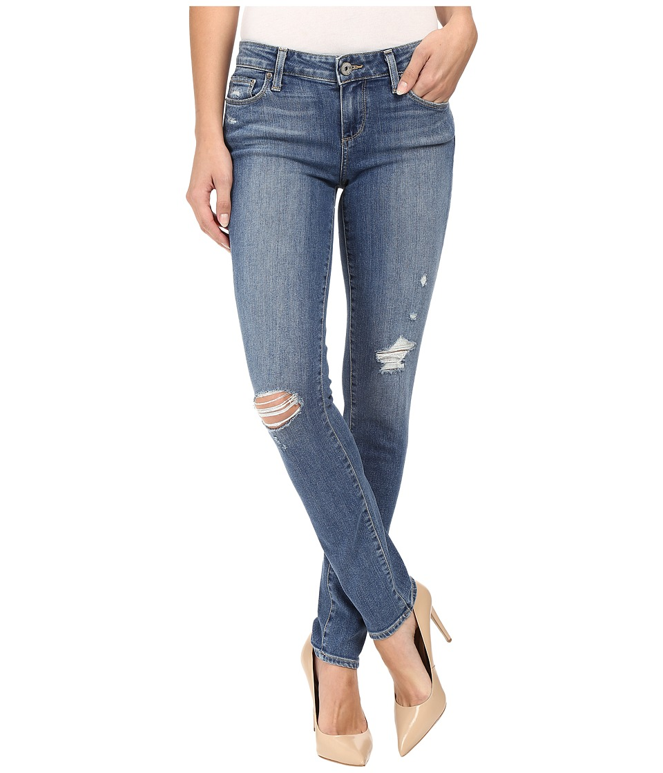 Paige Skyline Ankle Peg in Gia Destructed (Gia Destructed) Women's Jeans
