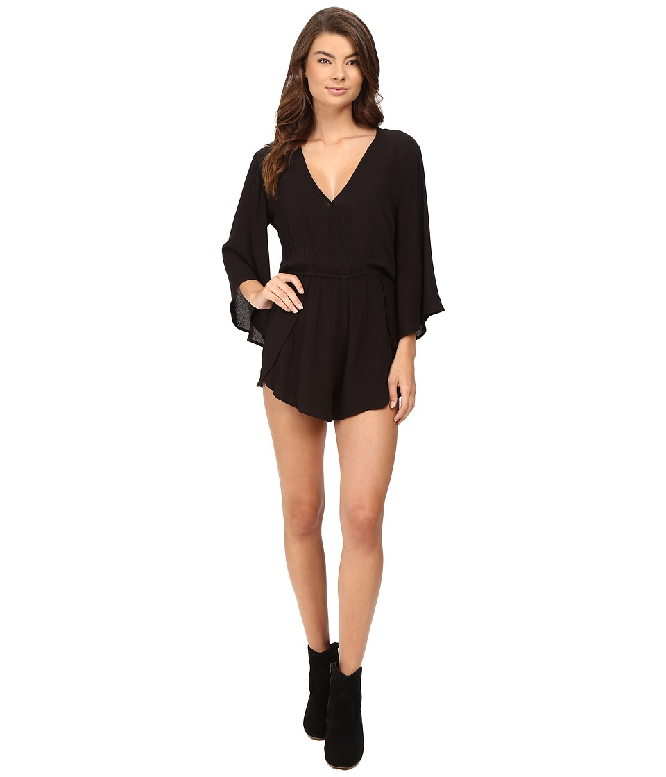 Amuse Society - Tessa Jumper (Solid Black) Women's Jumpsuit & Rompers One Piece