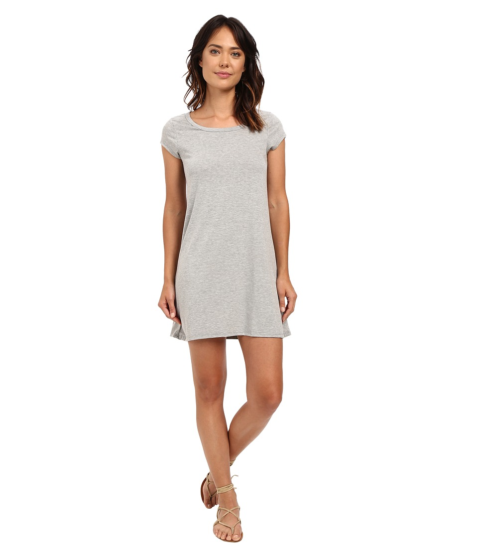 Billabong - Moon Shadow Dress (Athletic Grey) Women's Dress