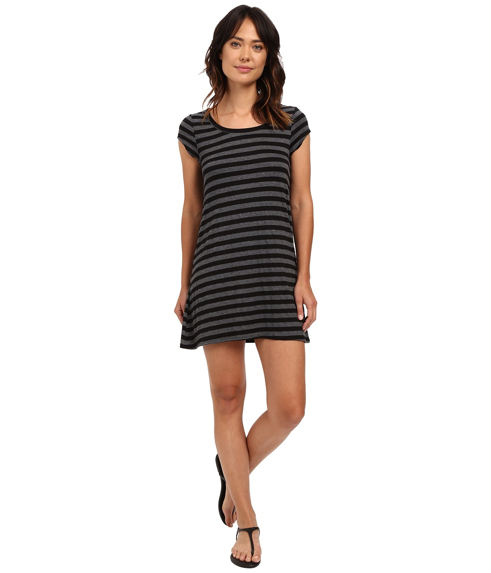 Billabong - Moon Shadow Dress (Off-Black) Women's Dress