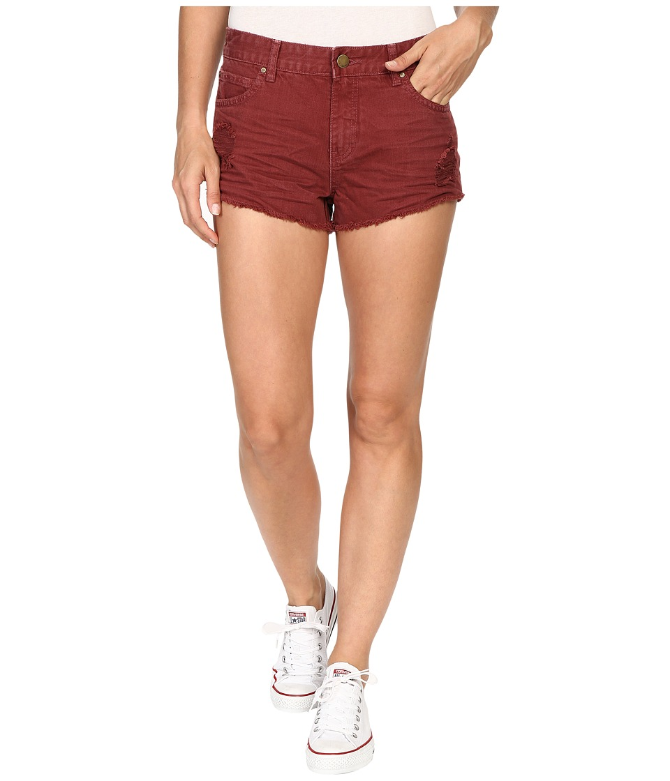 Billabong - Highway Shorts (Mauvewood) Women's Shorts