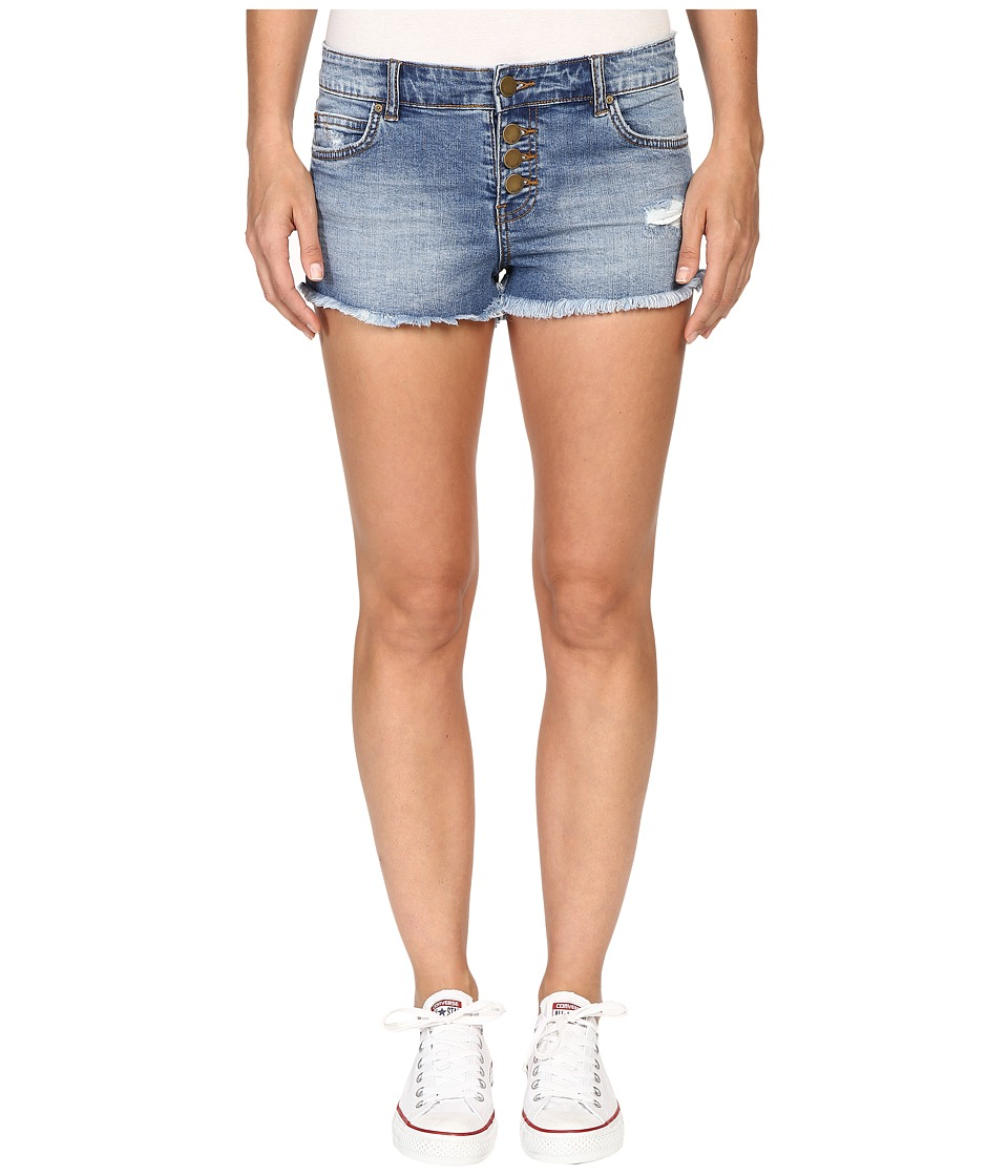 Billabong - Buttoned Up Shorts (Coastal Blue) Women's Shorts