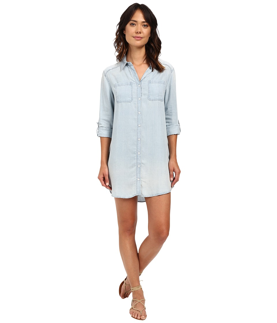 Billabong - Got the Blues Shirtdress (Chambray) Women's Dress