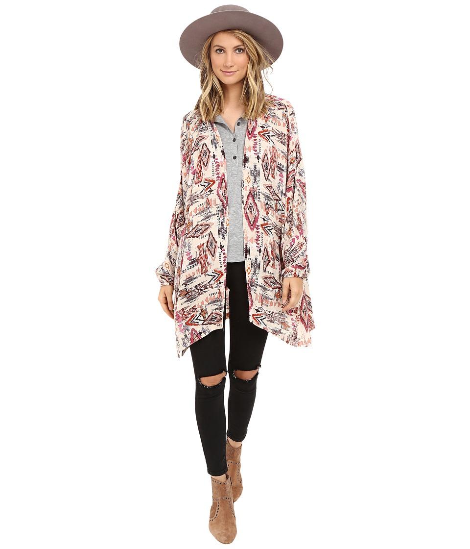 Billabong - Wandering Sol Kimono (Multi) Women's Sweater