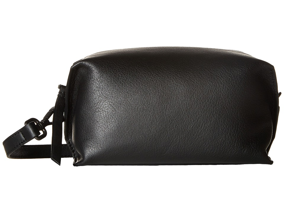 ECCO - Sculptured Crossbody (Black) Cross Body Handbags