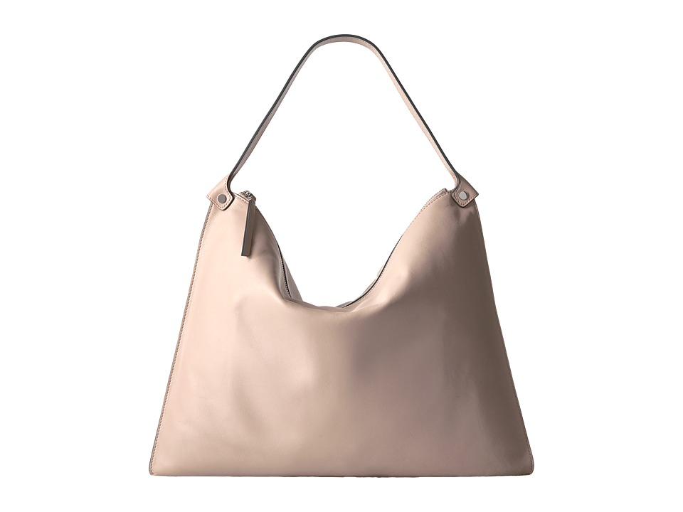 ECCO - Sculptured Shoulder Bag (Rose Dust) Shoulder Handbags