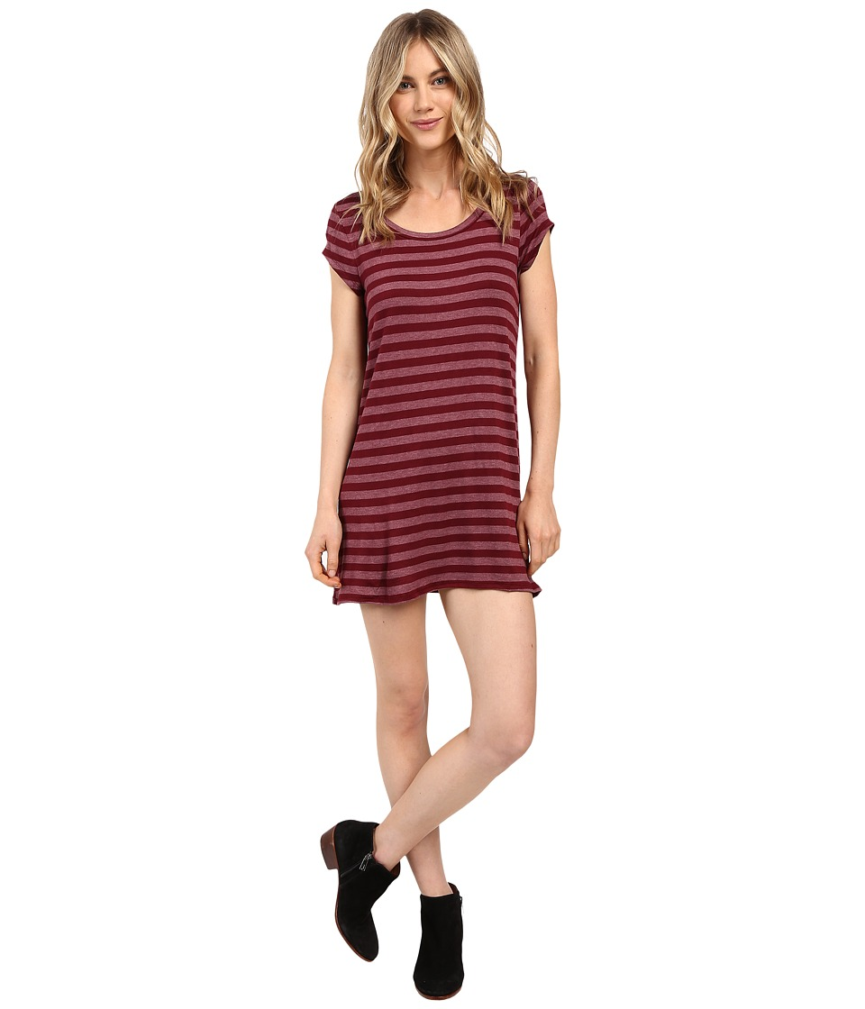 Billabong - Moon Shadow Dress (Mystic Maroon) Women's Dress