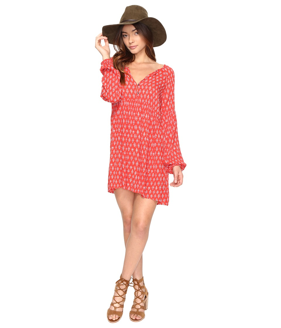 Billabong - Until Tomorrow Dress (Rad Red) Women's Dress