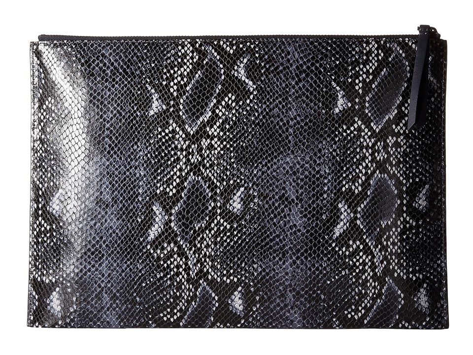 ECCO - Sculptured Day Clutch (Cosmo Blue/True Navy) Clutch Handbags