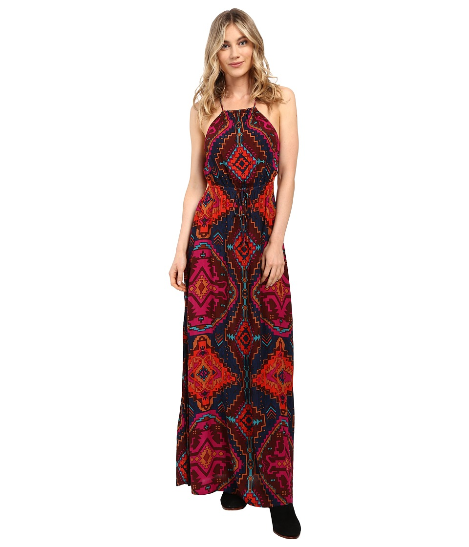 Billabong - Native Sands Maxi Dress (Multi) Women's Dress