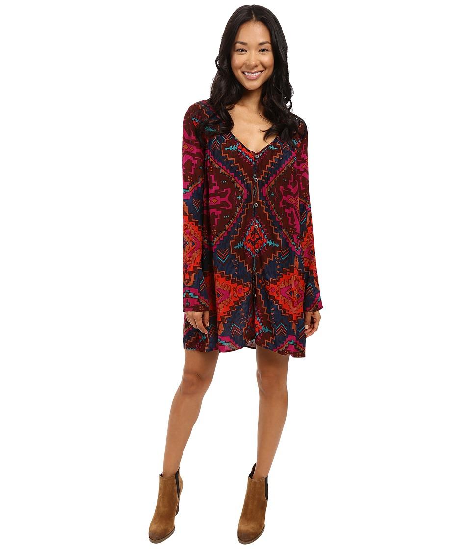Billabong - Moongazer Dress (Multi) Women's Dress