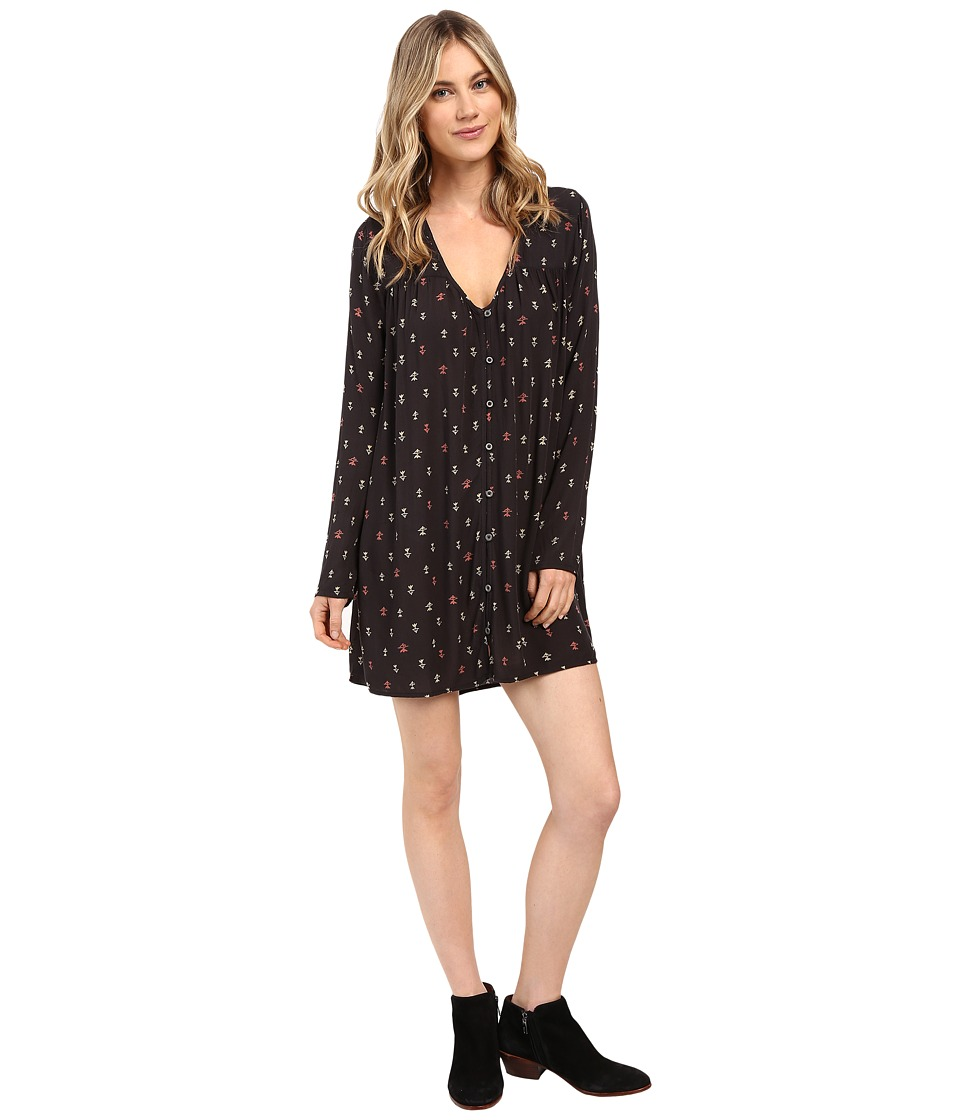 Billabong - Moongazer Dress (Off-Black) Women's Dress