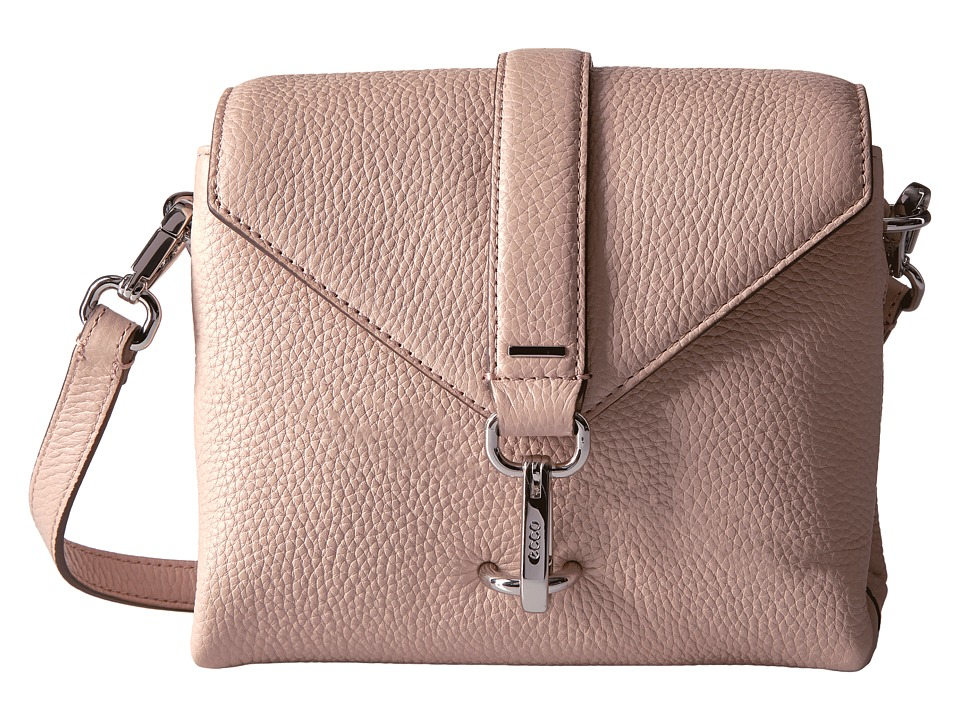ECCO - Isan Small Crossbody (Rose Dust) Cross Body Handbags