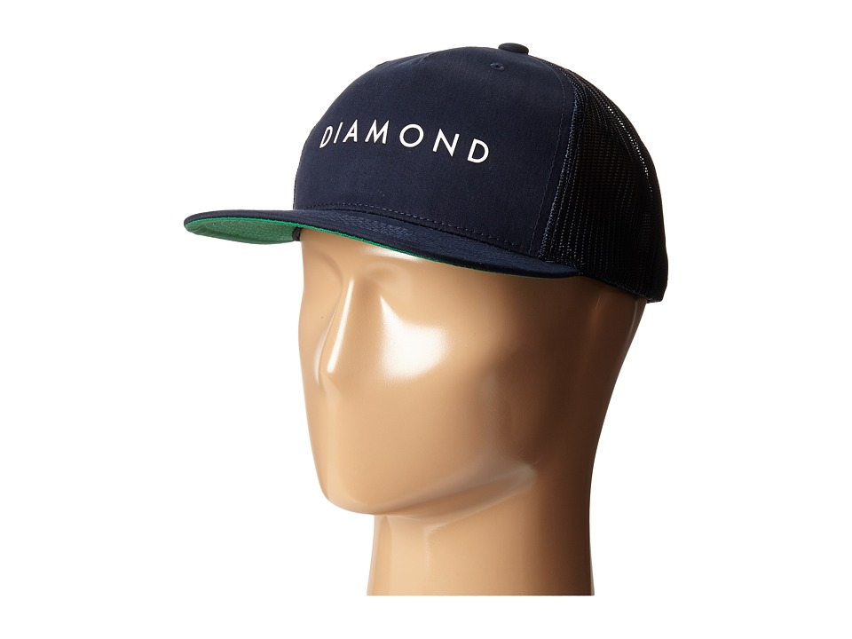 Diamond Supply Co. - Diamond Snapback (Navy) Baseball Caps