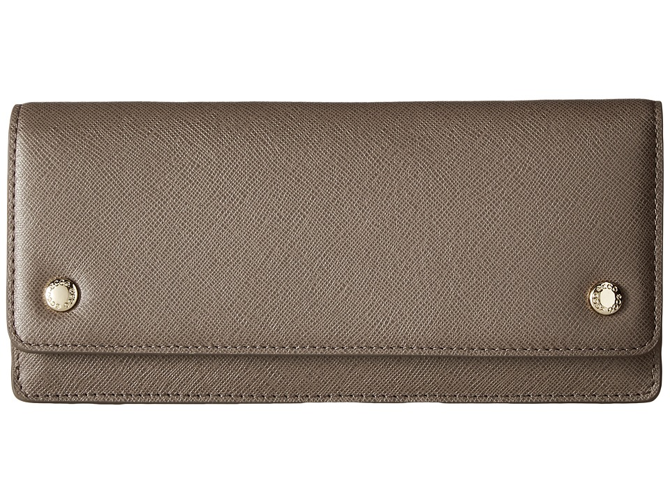 ECCO - Iola Slim Wallet (Dark Clay) Wallet Handbags