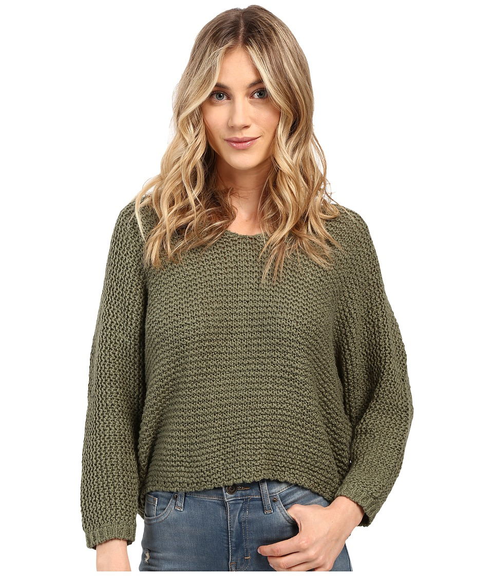 Billabong - Way Back When Sweater (Moss) Women's Sweater