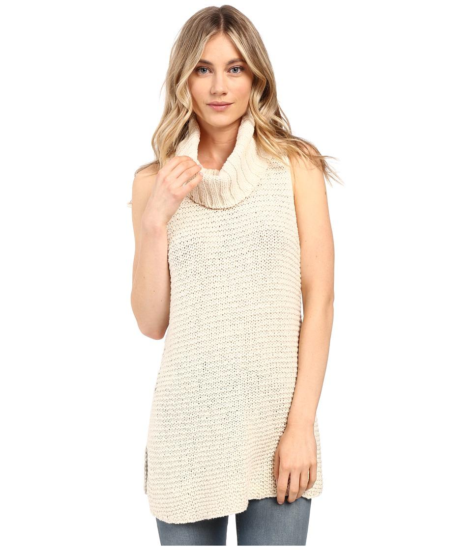 Billabong - Sidewaze Love Tunic Sweater (Pearl) Women's Sweater