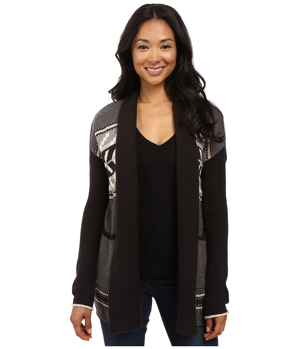 Billabong - Pattern Play Cardigan (Off-Black) Women's Sweater