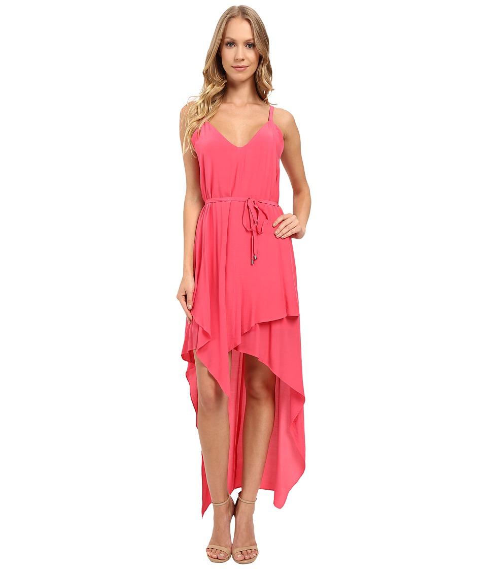 Adelyn Rae - Hi-Low Tank Dress (Coral) Women's Dress